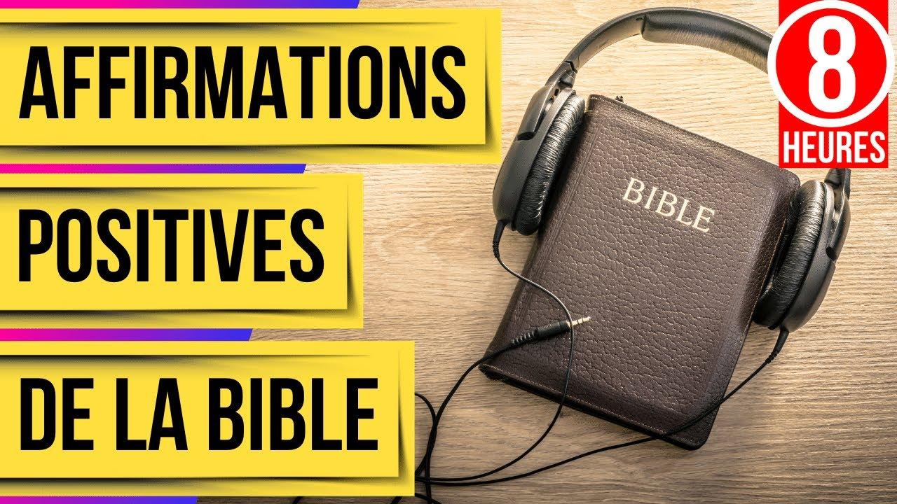 Affirmations positives de la Bible(Versets Bibliques pour dormir avec la parole de Dieu)