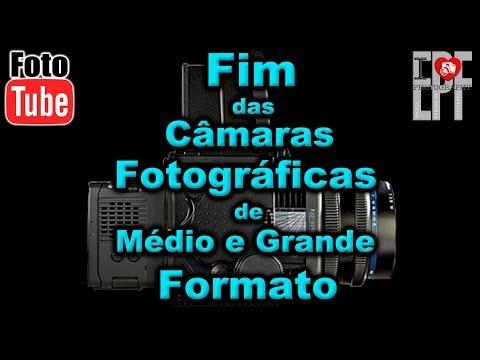 Fim das Câmaras Fotográficas de Médio e Grande Formato