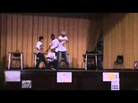 mindless behavior performing at Amandla Charter School
