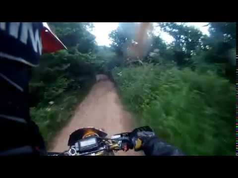 sunday ride green laneing around bristol bristol bait riders drz 400 and rm 125