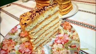 """Как приготовить торт """"Рыжик по-деревенски""""."""