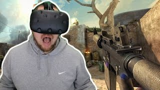 COUNTER STRIKE CROSS TIME CRISIS IN VIRTUAL REALITY | Overkill VR Gameplay (HTC Vive Gameplay)