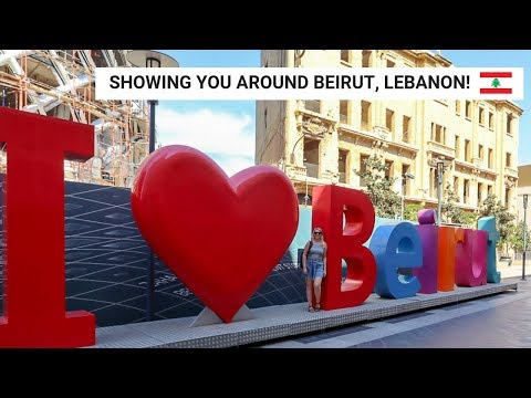 Walking Through Beirut City to see the Tourist Sites! | Beirut Vlog