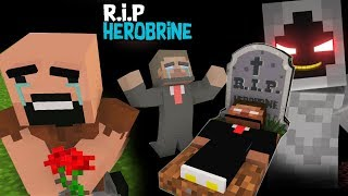 Monster School : RIP ALL Monsters & Herobrine (Sad story) - With Notch vs Entity 303