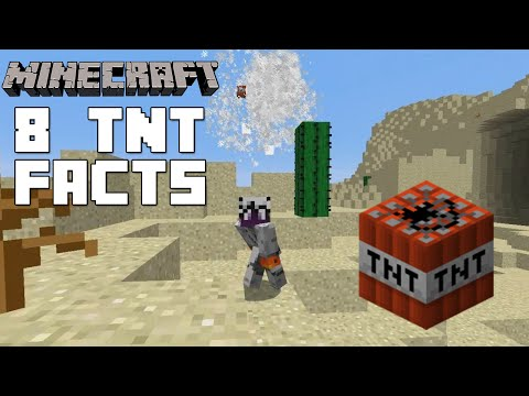 Minecraft - 8 TNT Facts And Tricks You Might Not Know