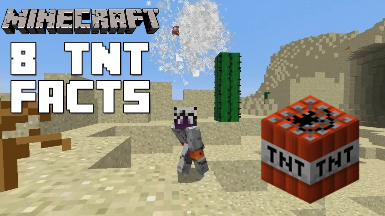 Minecraft Creative Tips Tricks: 8 TNT Facts And Tricks You Might Not Know