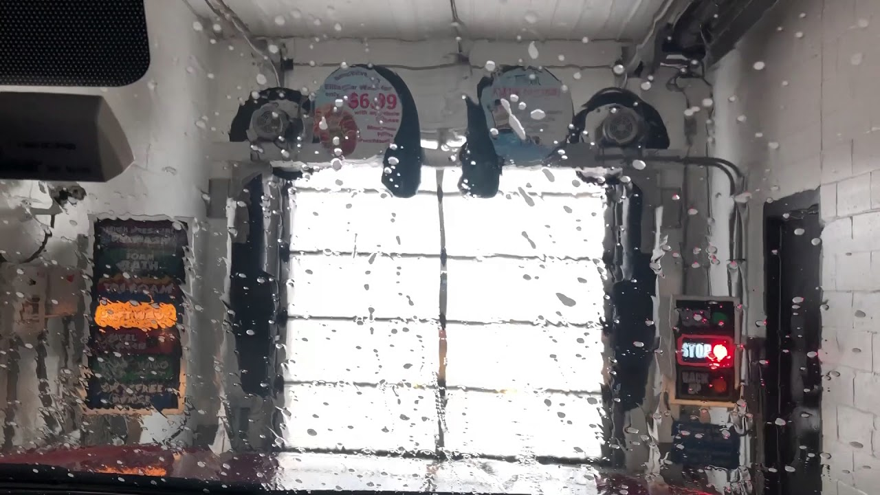 Inside View Of Soft Touch Car Wash Kwik Trip Gas Station Weston