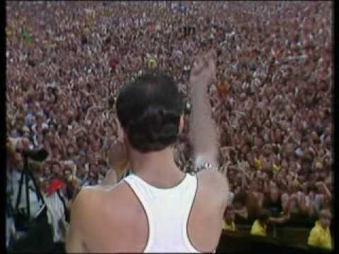 Queen - Radio GaGa - Live Aid : Wembley London 1985