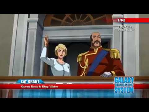 Young Justice Season 3 Episode 1 (Cat Grant News Report ...