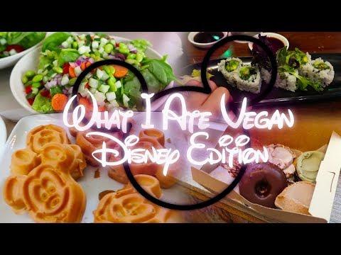 What I Ate VEGAN | Disney Edition!