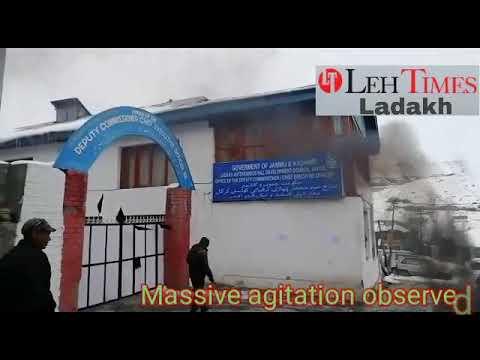 Massive agitation observed in Kargil Mp3
