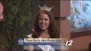 Ivy DePew wins Miss Rhode Island 2014
