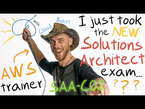 Just took the NEW Solutions Arch. Exam SAA-C02 (I'm an AWS Trainer)
