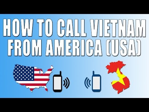 How To Call Vietnam From America (USA)