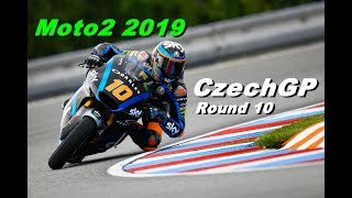 Moto2 CZECH GP 2019 | Championship #10 | TV REPLAY | MotoGP 19 PC GAME