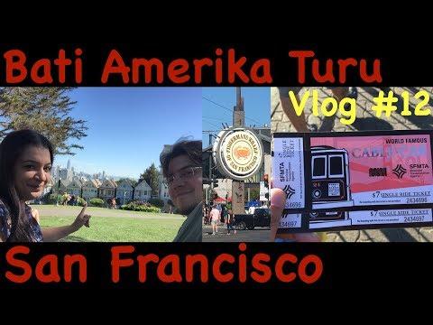 San Francisco'da Türk Restorani - Kablolu Trenler ve Pier 39