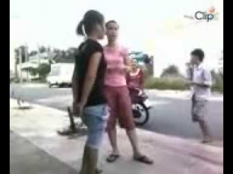2 Girl 9x Bình Dương đánh nhau_._ - Clip.vn.mp4.dap