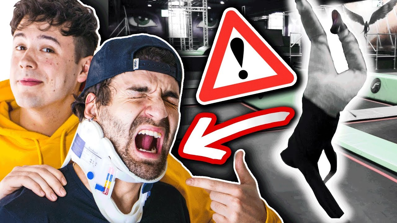 CRISPYROB in der TRAMPOLINHALLE (Totale Katastrophe! ⚠????)