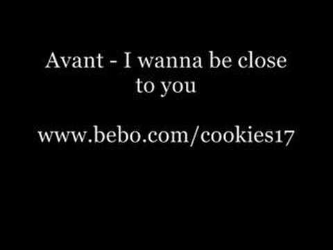 Avant - I wanna be close