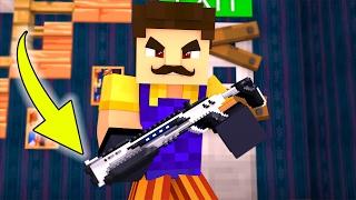 Minecraft HELLO NEIGHBOR - BIGGEST SECRET EVER !? (Minecraft Roleplay)