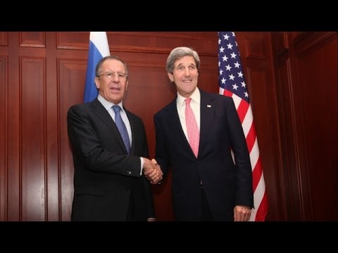 LIVE: Lavrov and Kerry arrive at UN HQ