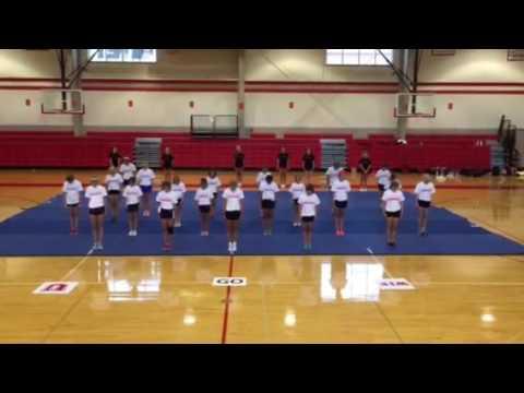 Ursuline Academy Cheer Camp, June 2016