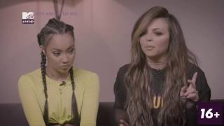 LIttle Mix Interview with Laura Whitmore - Q&A