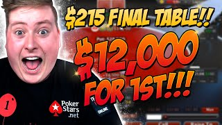 $215 FINAL TABLE! - PokerStaples Stream Highlights June 13th 2016