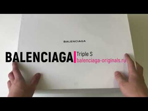 Обзор balenciaga triple s баленсиага трипл с | balenciaga-originals.ru