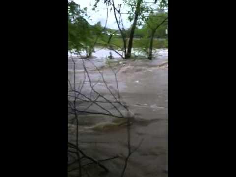 Flat Creek Flooding - YouTube
