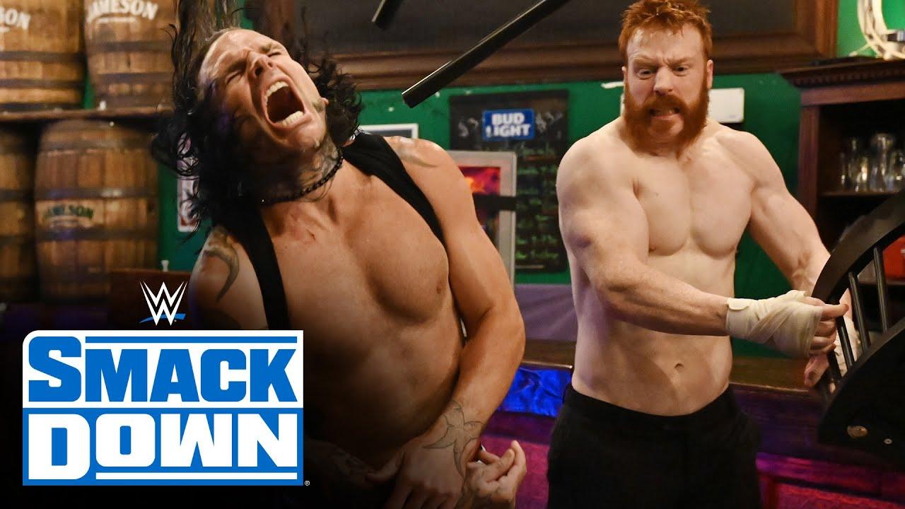 Jeff Hardy vs. Sheamus – Bar Fight: SmackDown, July 24, 2020