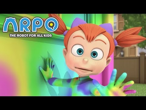 ARPO The Robot For All Kids - Rainbow Fever | Compilation | Cartoon for Kids