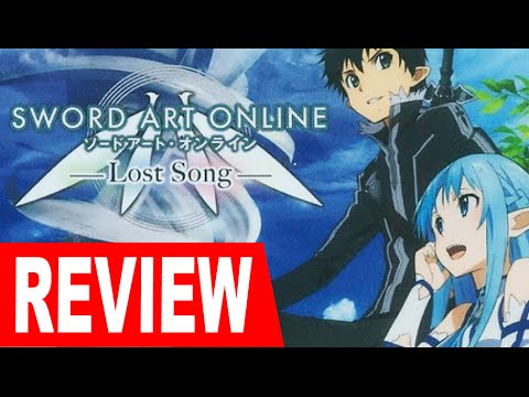 Sword Art Online - Lost Song (PS3/PS4/Vita) Review (60fps)