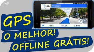 ▶O melhor GPS off-line Grátis!