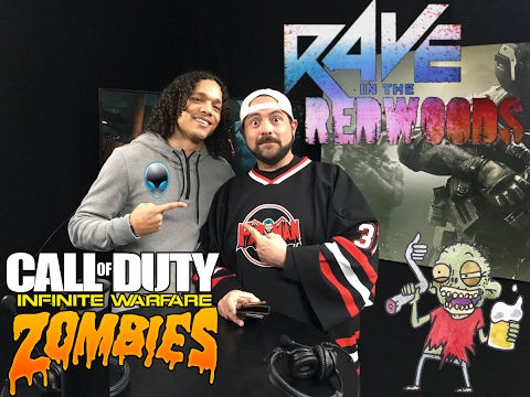 Lee Ross and Kevin Smith Livestreams Rave in the Redwoods Zombies-Call of Duty: Infinite Warfare