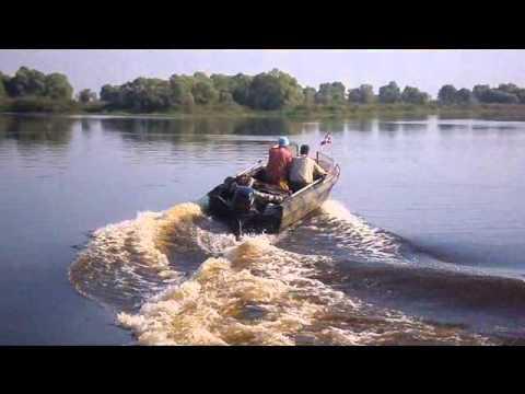 Лодка ОКА-4 + Yamaha F20bmhs - YouTube