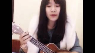Ngày xuân long phụng xum vầy ukulele cover Hà My