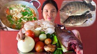Yummy Cooking Fish Tom Yum Recipe - Sophours ASMR