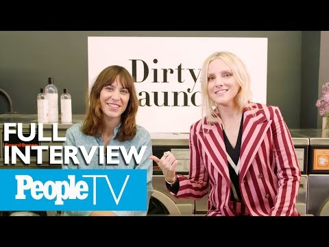 Alexa Chung On Her Men's Prada Sweater & Favorite Frilly Pink Top | Dirty Laundry | PeopleTV