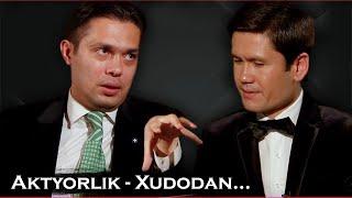"""скандальное интервью с Отабеком Махкамовым на телепередаче """"Чой устида"""" с Акмал-Мирзо."""