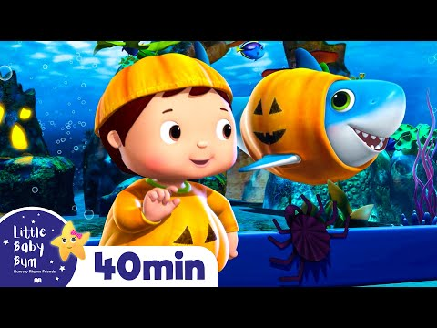 Baby Shark Dance Halloween Special | Baby Shark Dance + More Nursery Rhymes | Little Baby Bum