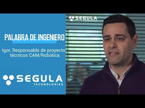 [Palabra de Ingeniero] Igor, Responsable de proyectos técnicos CAM/Robótica