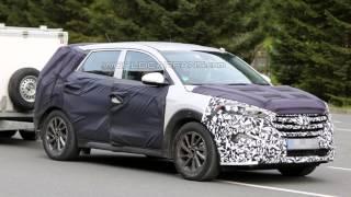 Hyundai вывел на дорожные тесты ix35 смотреть