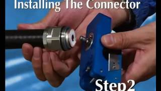 Instructional Video for Rosenberger DIN 7/16 & Type N Connectors for 7/8