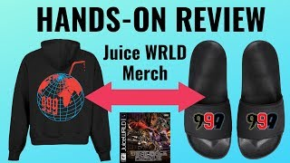 Juice WRLD Merch Review // Hoodie + Slides // Death Race For Love