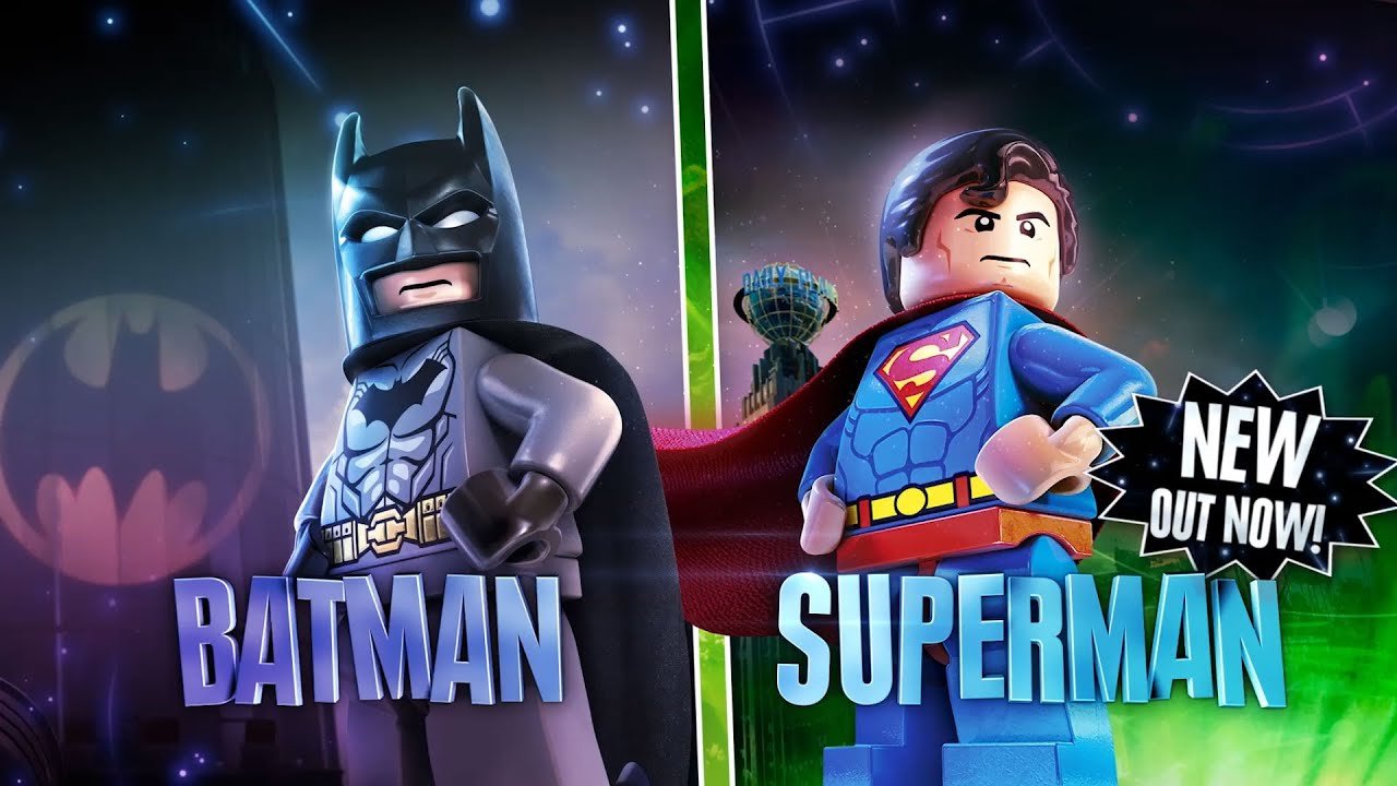 LEGO Dimensions: Superhero Mash-Up Feature - YouTube
