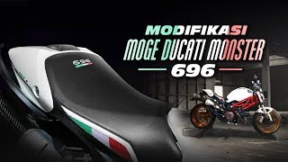 Modifikasi Moge Ducati Monster 696