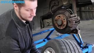 Comment remplacer un ensemble moyeu / roulement de roue arrière sur une Audi A3 type 8L