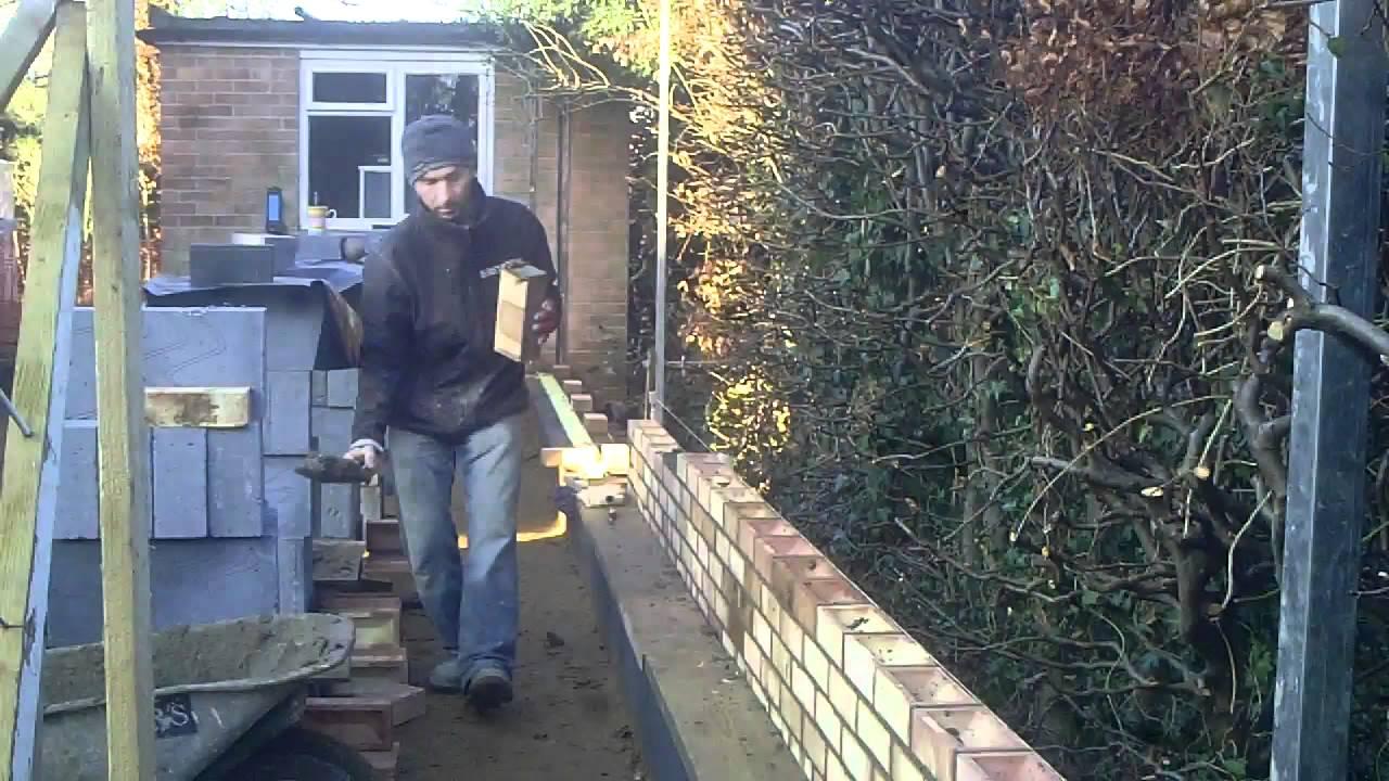 The Fine Art Of Brickwork Overhand Work Running In 3
