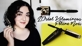 L'Oréal Voluminous Féline Noir Mascara Review | Beauty Bite